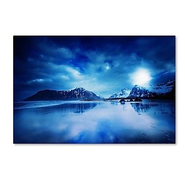 Trademark Fine Art Philippe Sainte-Laudy 'Lofoten Blues' 12