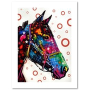 "Trademark Fine Art Dean Russo 'Horse' 18"" x 24"" Paper Rolled (190836148226)"