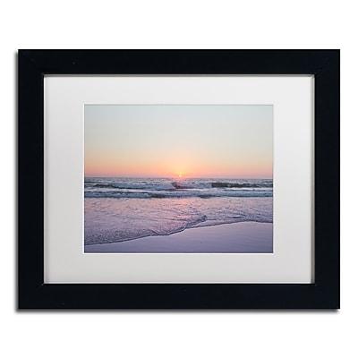 Trademark Fine Art Ariane Moshayedi 'Beach at Sunset' 11
