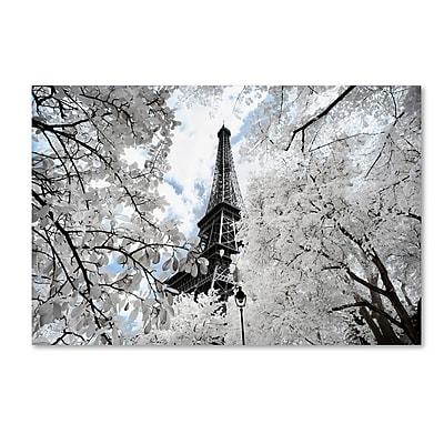 "Trademark Fine Art Philippe Hugonnard 'Another Look at Paris V' 12"" x 19"" Canvas (190836041831)"