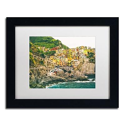 Trademark Fine Art Ariane Moshayedi 'Cinque Terre 3' 11