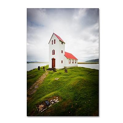 Trademark Fine Art Philippe Sainte-Laudy 'Icelandic Church' 12