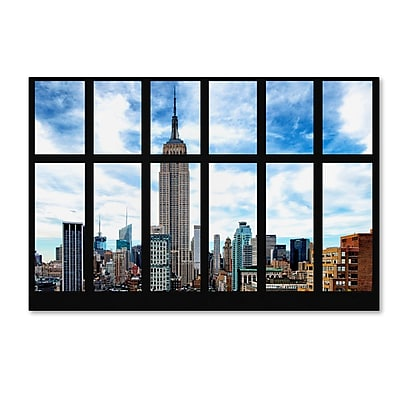 Trademark Fine Art Philippe Hugonnard 'Empire State Building View' 12