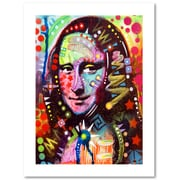 "Trademark Fine Art Dean Russo 'Mona Lisa' 18"" x 24"" Paper Rolled (190836154227)"