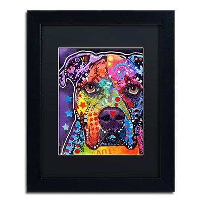 Trademark Fine Art Dean Russo 'American Bulldog 121609' 11