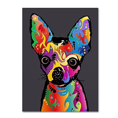 Trademark Fine Art Michael Tompsett 'Chihuahua Dog Grey' 14