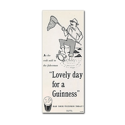 Trademark Fine Art Guinness Brewery 'Lovely Day For A Guinness III' 8
