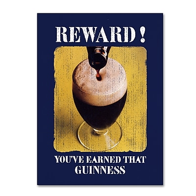 Trademark Fine Art Guinness Brewery 'Reward' 14