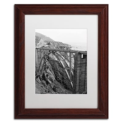 Trademark Fine Art Ariane Moshayedi 'Bixby Bridge BW' 11