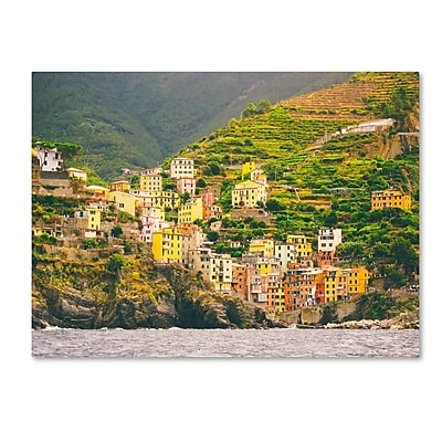 Trademark Fine Art Ariane Moshayedi 'Cinque Terre' 14