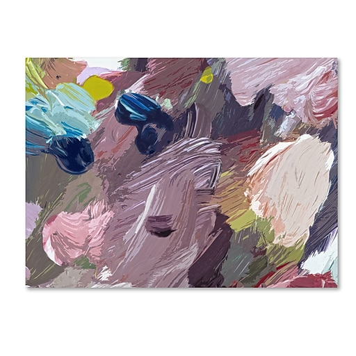 "Trademark Fine Art David Lloyd Glover 'Cloud Patterns' 14"" x 19"" Canvas Stretched (190836228263)"