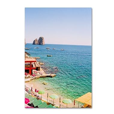Trademark Fine Art Ariane Moshayedi 'Capri' 12