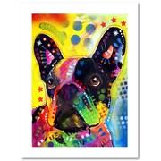 "Trademark Fine Art Dean Russo 'French Bulldog 2' 18"" x 24"" Paper Rolled (190836161720)"