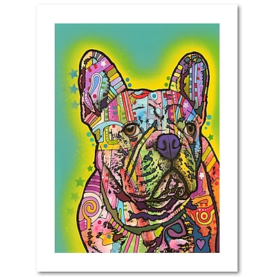 Trademark Fine Art Dean Russo 'French Bulldog III' 18
