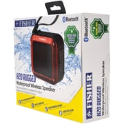 Fisher FBT180R H20 Rugged Bluetooth Speaker (Red)
