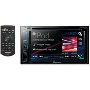"6.2"" Double-DIN In-Dash DVD Receiver with WVGA Clear-Resistive Touchscreen"
