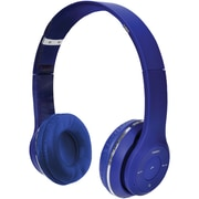 2BOOM HPBT345B Thunder Bluetooth Over-Ear Headphones with Microphone (Blue)