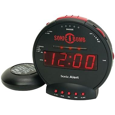 Sonic Alert SBB500ss Sonic Bomb Alarm Clock with Super Shaker