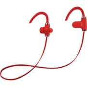 Fisher FBEP500R Freedom Sound Bluetooth In-Ear Sports Headphones with Microphone (Red)