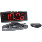 Sonic Alert Amplicall500 Wake-up Call Alarm Clock with Super Shaker