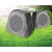 "ION ISP47 Solar Stone 6.5"" Wireless Rechargeable Rock Speaker"