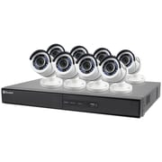 Swann Swdvk-164508-us 16-channel 1080p 2tb Dvr With 8 Bullet Cameras