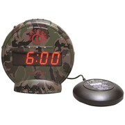 Sonic Alert SBC575SS Bunker Bomb Alarm Clock with Super Shaker