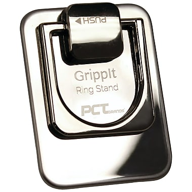 Universal Ring Stand for Smart Devices (Silver)