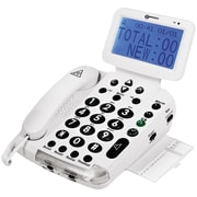 Big-Display 40dB Amplified Telephone with Talking Caller ID