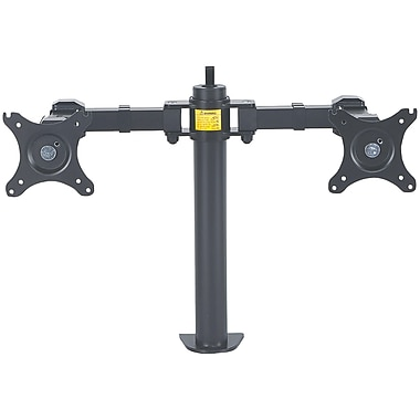 LCD Monitor Mount with Double-Link Swing Arms (Supports 2 Monitors)