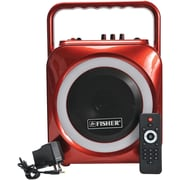 Fisher FBX440R Party Jam Wireless Studio System (Red)