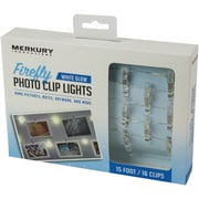 LED Firefly Photo Clip Lights, 15ft