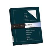 "Southworth 8.5""W x 11""L Cover Paper, 65 lbs., Linen Finish, 100/Box (Z550CK)"