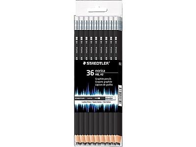 Staedtler Norica Wooden Pencils, No. 2 Medium Lead, 36/Pack (132 49CB36)