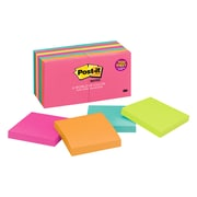 """Post-it® Notes, 3"""" x 3"""", Cape Town Collection, 14 Pads (654-14AN)"""