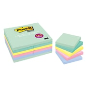 "Post-it® Notes Value Pack, 3"" x 3"", Marseille Collection, 24 Pads (654-24APVAD)"
