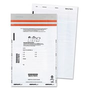 Quality Park Tamper-Evident Deposit Bags, 9 x 12, White, 100 per Pack( AZERTY14490)