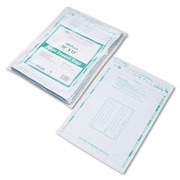 Quality Park Night Deposit Bags with Tear-Off Receipt 10 x 13 Opaque 100 Bags per Pack( AZRQUA45228)