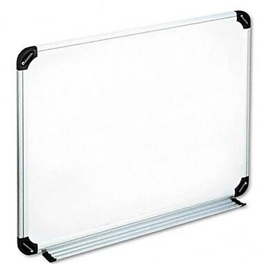 Universal Magnetic Dry Erase Board Melamine 24 x 18 White Aluminum/Plastic Frame (AZRUNV43732)