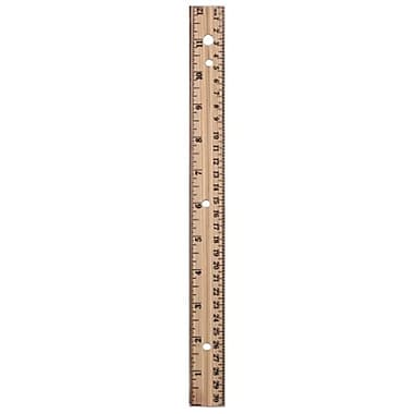 A & W Products 12 in. Wood Ruler (JNSN58166)