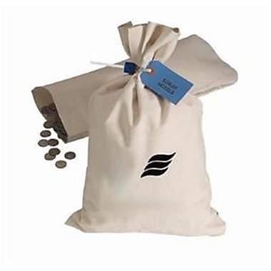 MMF Shipping Bag 12 Inches X 19 Inches Duck Flat - Natural (MMF1025)