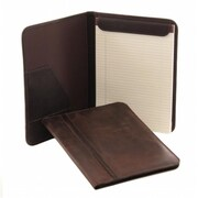 Piel Leather 3080 - BRN Vintage Letter - Size Padfolio - Brown (PIEL09429)