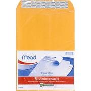 Meadwestvaco Mead Press It Seal It 5Ct 9 X 12 Envelopes (EDRE41162)