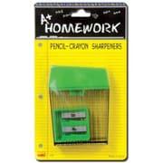 Bulk Buys Sharpener Pencil-Crayon - 2 pack - Case of 48( DLRDY236505)