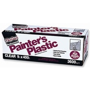Poly-america 9ft. X 400ft. Film-Gard Clear Professional Painters Plastic (JNSN29007)