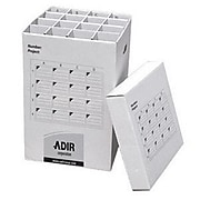 """Adir Corp Adir 25""""H Storage File with 16 Compartments, White (RTL24CR001)"""