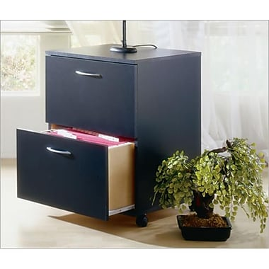 Mfi-Nexera Mobile File Cabinet- Black (MFI223)