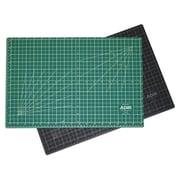 Adir Corp. Adir Self Healing Cutting Mat Reversible Green Black 18 inch x 24 inch Green Black( ADIRCN044) by