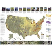 National Geographic Maps Landscope USA Conservation Map( NAGGR035)