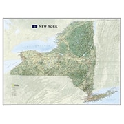 National Geographic Maps New York State Wall Map Laminated( NAGGR048)